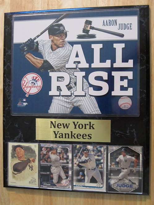 New York Yankees Aaron Judge Plaque