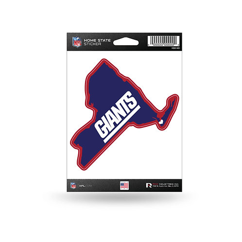 New York Giants Home State Sticker