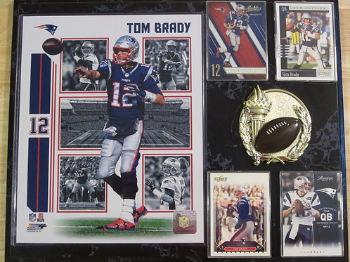 Tom Brady Plaque