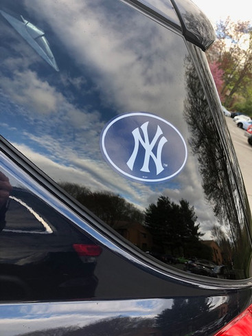 New York Yankees Oval Sticker