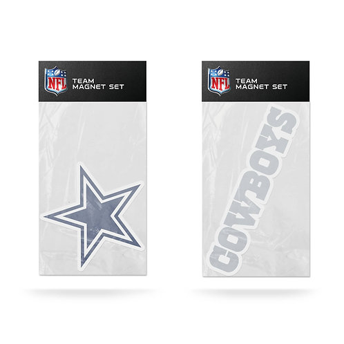 Dallas Cowboys 2-Pack Magnet Set