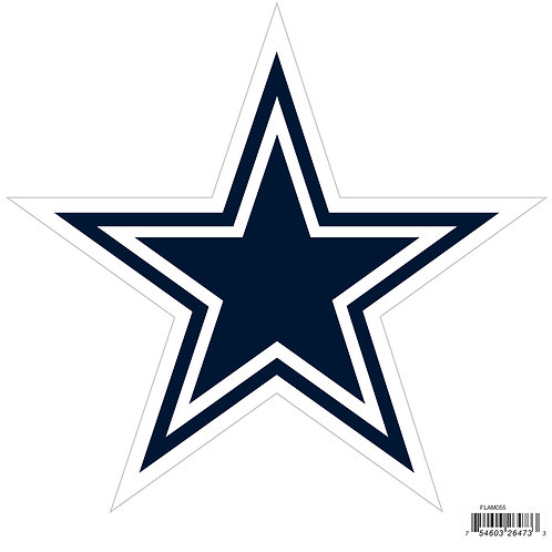 "Dallas Cowboys 8"" Logo Magnet"