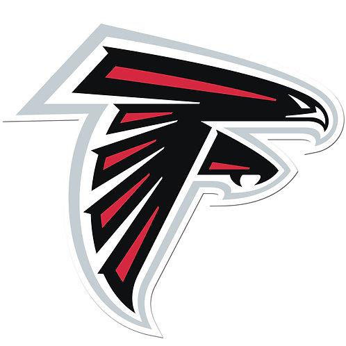 "Atlanta Falcons 8"" Auto Decal"