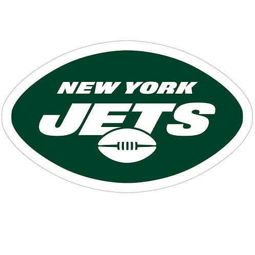 "New York Jets 8"" Logo Magnet"