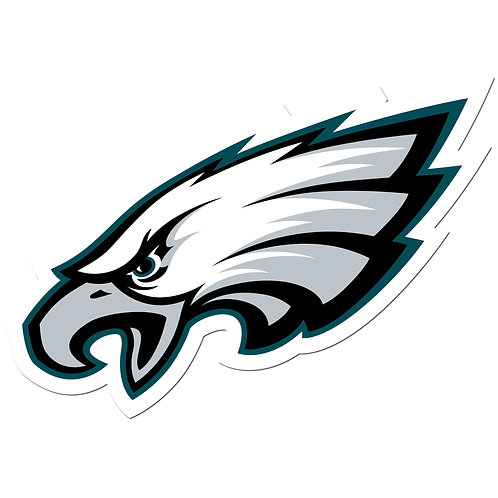 "Philadelphia Eagles 8"" Auto Decal"