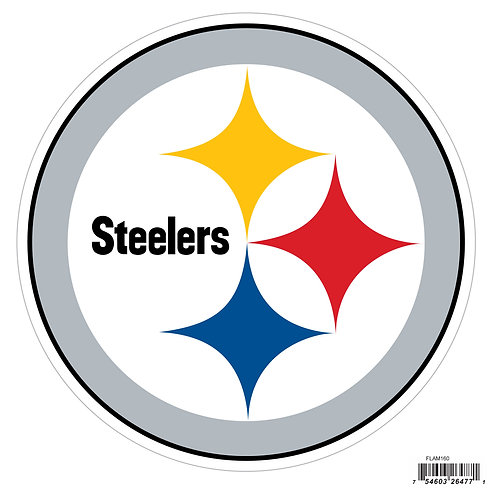 "Pittsburgh Steelers 8"" Logo Magnet"