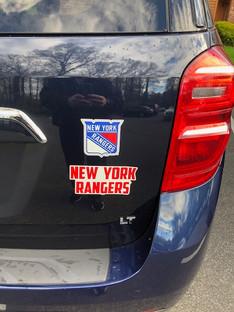 New York Rangers Decal