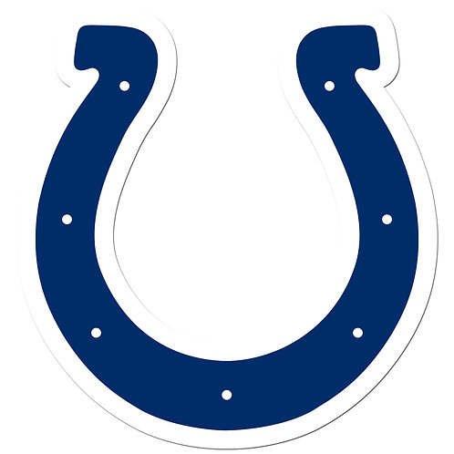 """Indianapolis Colts 8"""" Auto Decal"""