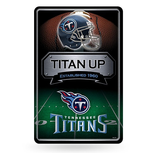 Tennessee Titans Metal Sign