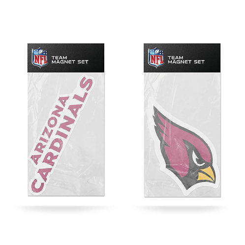 Arizona Cardinals 2-Pack Magnet Set