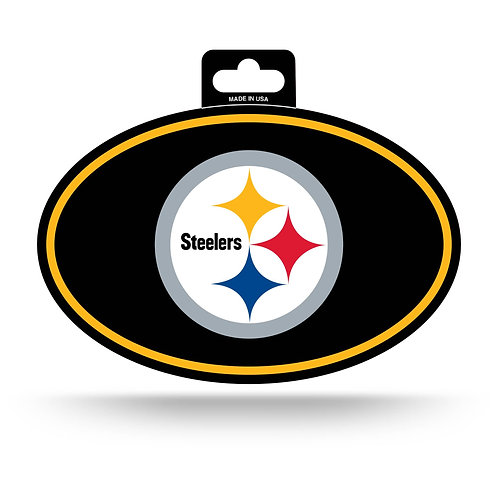 Pittsburgh Steelers Oval Sticker