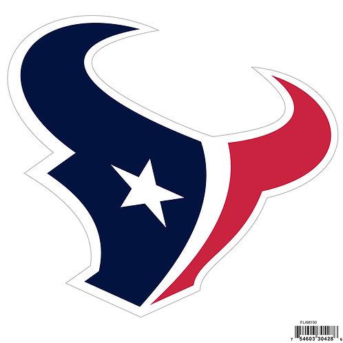 "Houston Texans 8"" Logo Magnet"