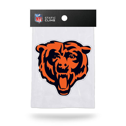 Chicago Bears Head Static Cling