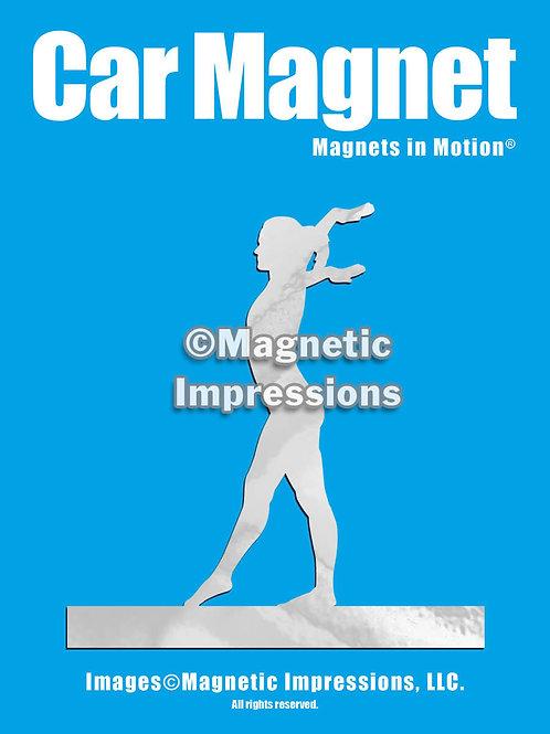 Gymnast Magnet in Motion