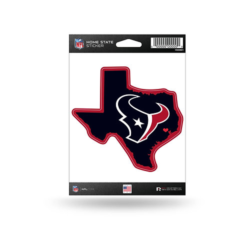 Houston Texans Home State Sticker