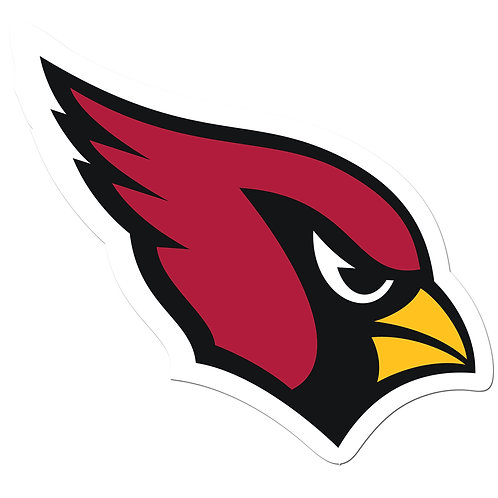 "Arizona Cardinals 8"" Auto Decal"