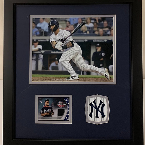 New York Yankees Gleyber Torres Game Used Relic 2018 All Star Game