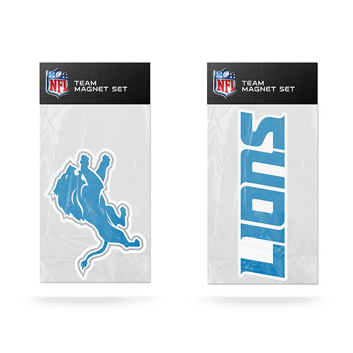 Detroit Lions 2-Pack Magnet Set