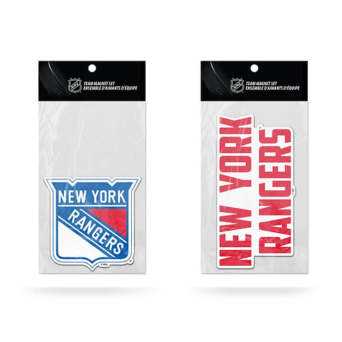New York Rangers 2-Pack Magnet Set