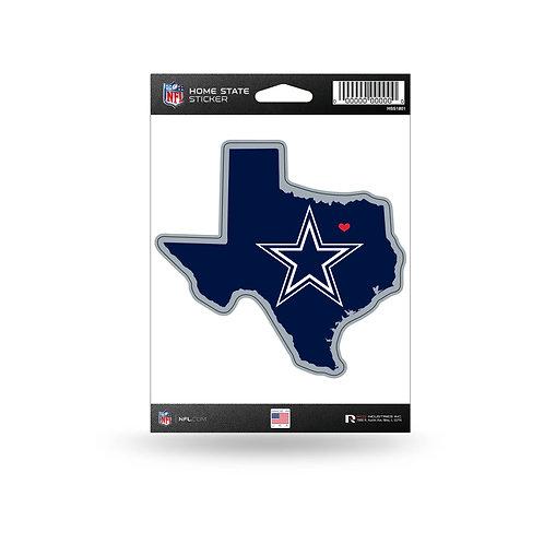 Dallas Cowboys Home State Sticker
