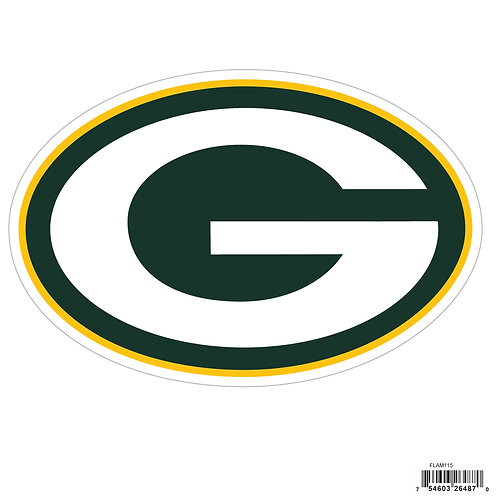 """Green Bay Packers 8"""" Logo Magnet"""