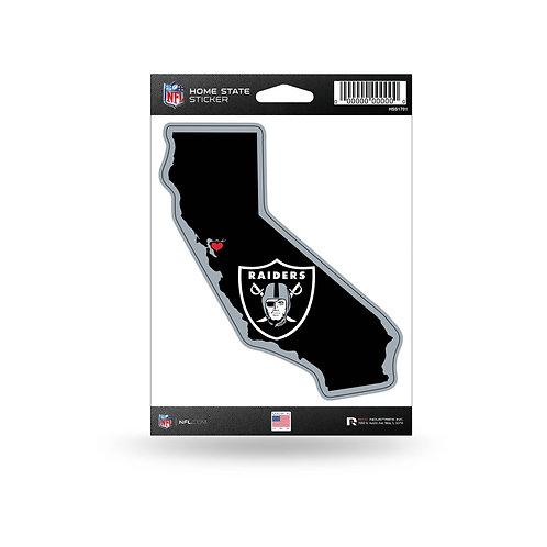 Oakland (Las Vegas) Raiders Home State Sticker