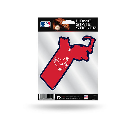 Boston Red Sox Home State Sticker