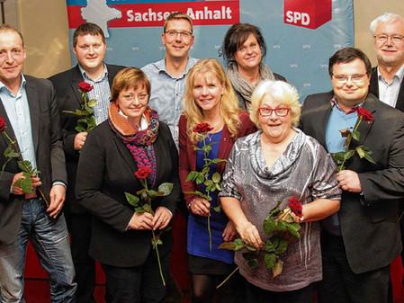 Wahl des neuen SPD-Kreisvorstandes