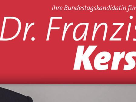 Dr. Franziska Kersten stellt sich vor