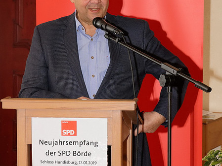 Siegmar Gabriel auf Schloss Hundisburg