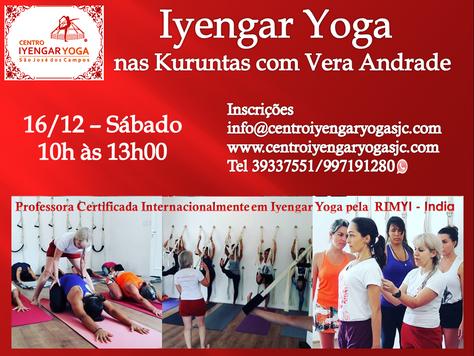 Aulão de Iyengar Yoga nas Kuruntas