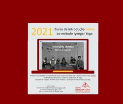 Curso de Introdução ao Método Iyengar Yoga On Line 2021