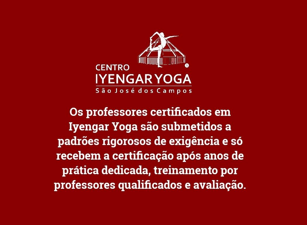 Sobre os professores de iyengar Yoga