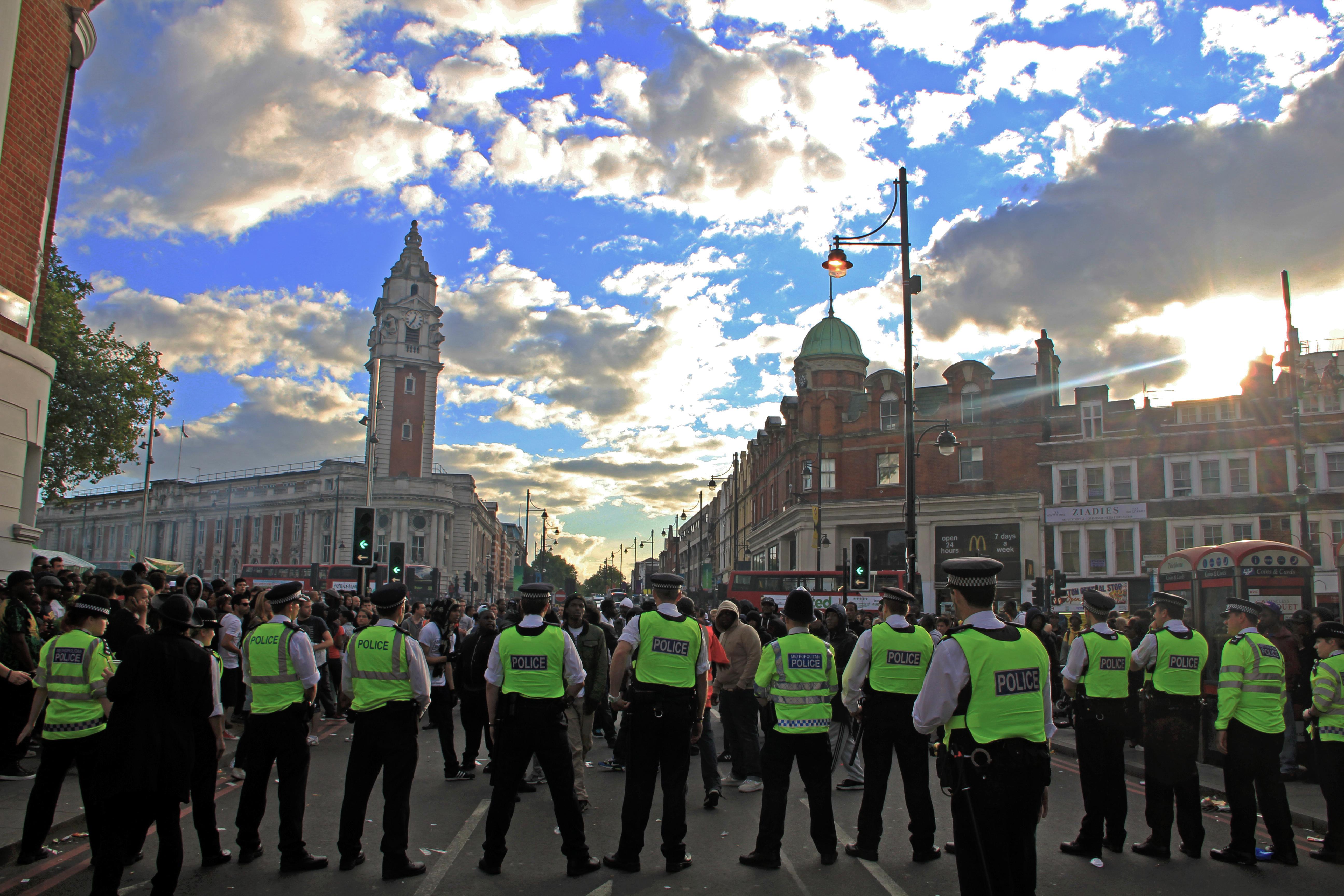Brixton police vs rudes