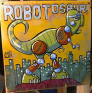"""Robotosaur"" ©Matthew Laznicka"