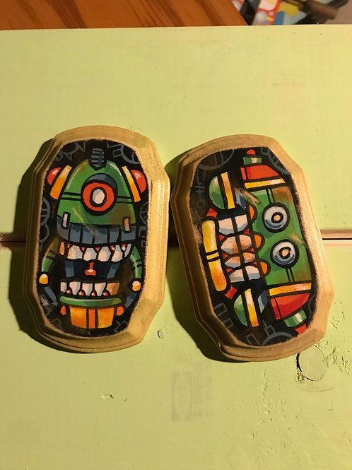 Mini Bot Paintings