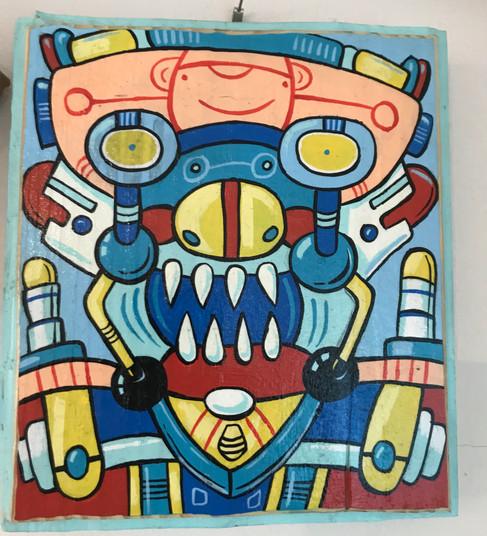 """Facebot"" ©Matthew Laznicka"