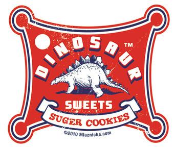 Dinosaur Suger Cookies