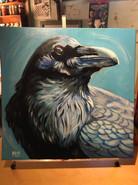 """Ice Raven"" ©Matthew Laznicka"