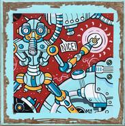 """Nicebot"" ©Matthew Laznicka"