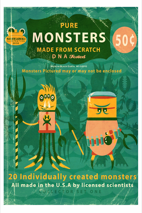 """Real Monsters"""