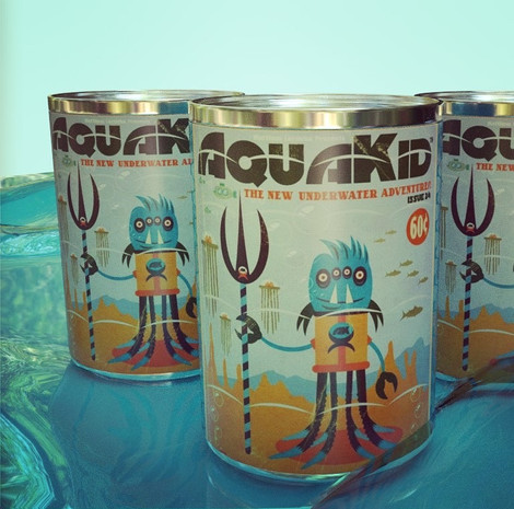 AquaKid Canned Goodness