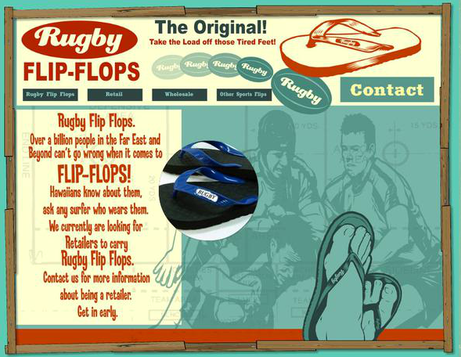 Rugby Flops