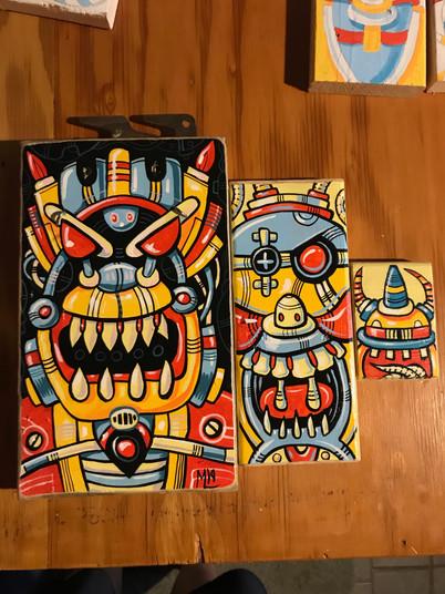 Various Paintings (Sold)