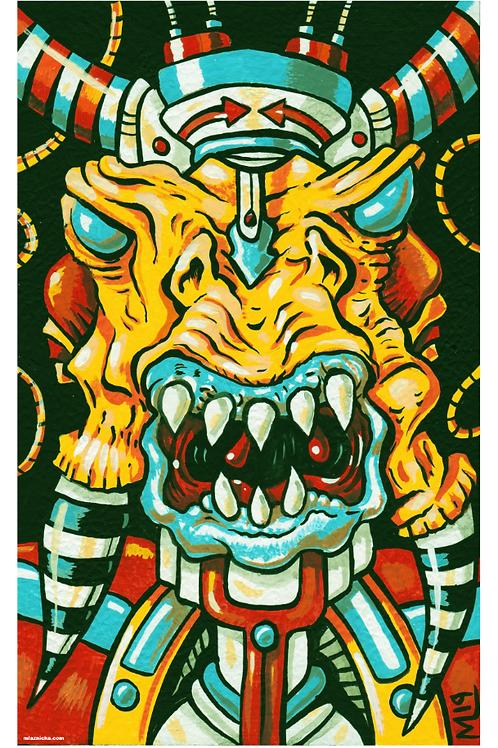 """Kingbot"" (print)"