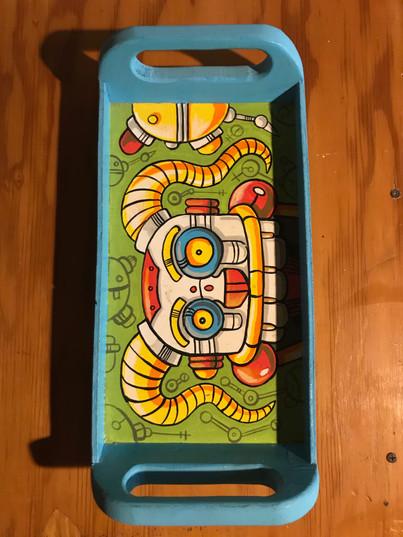 """Clown Bot Tray"" ©Matthew Laznicka"