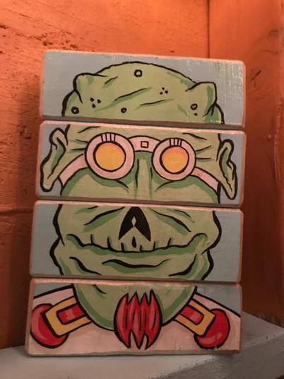 """Alien Block Set"" ©Matthew LaznickaAVAILABLE AT:          C. A. Tupa Gallery 2034 Main St. Cross Plains,WI"