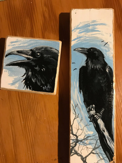 Crows (Sold)