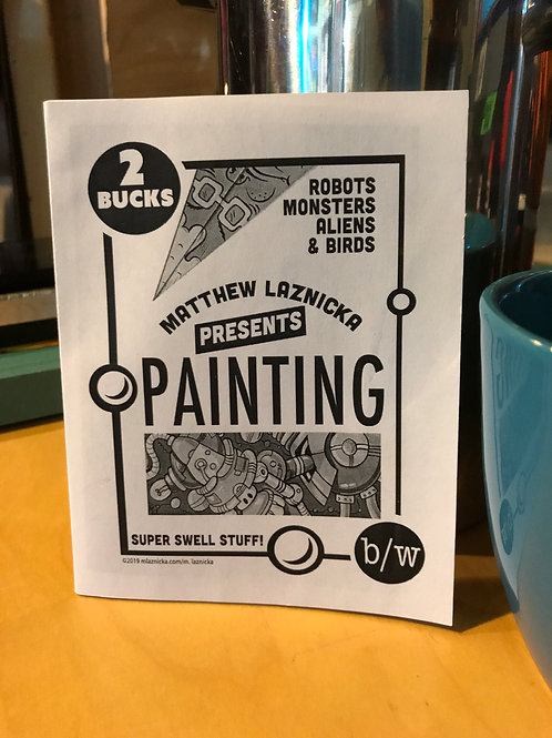 Matthew Laznicka presents Painting Zine