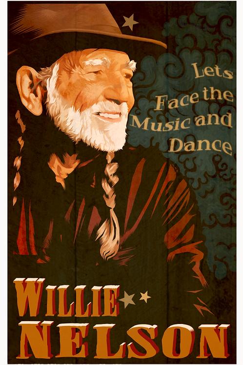 """Willie"" digital illustration 11 x 17 (Print)"